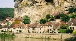 Bicycle Touring in France along the Dordogne