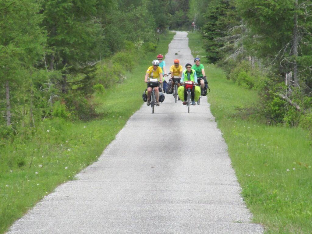 Le P'tit Train du Nord cycling route