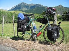 Cycle touring packing list