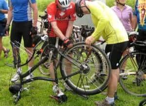 Bicycle Touring Repairs