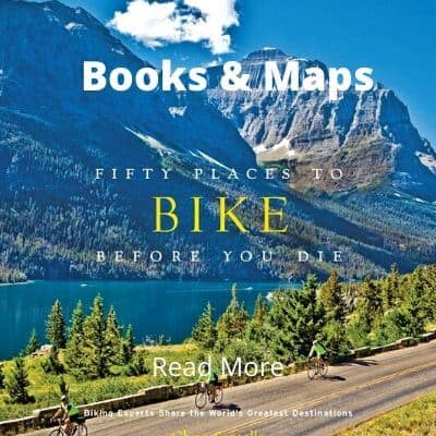 Cycling books and maps