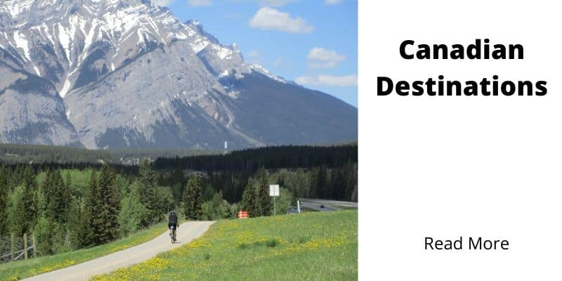 Canadian Bicycle Touring Destinations