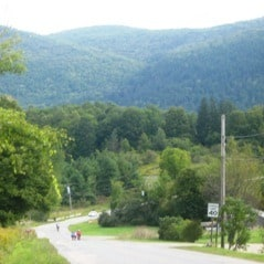 Cycling in Vermont