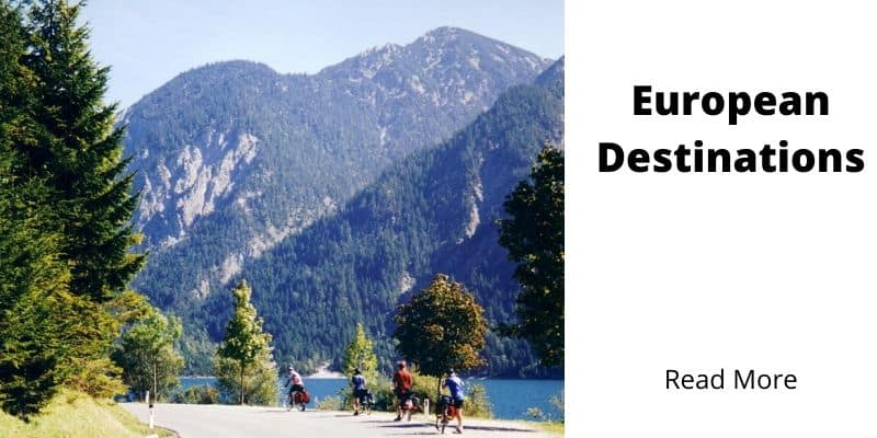 European Bicycle Touring Destinations