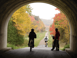 Not Your Average Cycling Rail-Trail