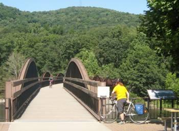 Biking Great Allegheny Passage