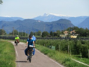 Adige bicycle path