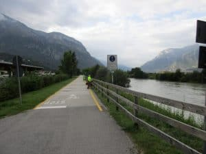 Adige Bicycle route