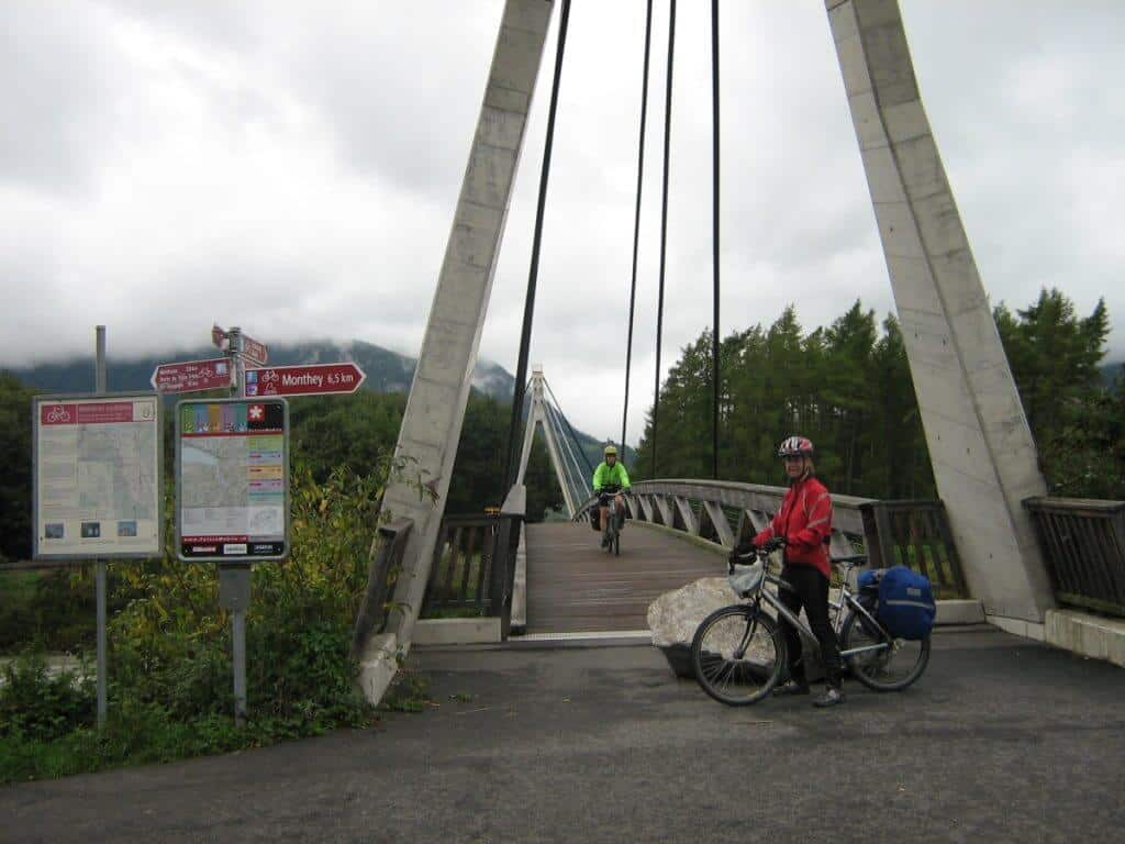 Rhone River Bicycle Route
