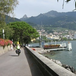 Rhone Valley Bicycle Route