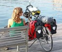 Bicycle touring panniers, Bike touring bags, Cycle touring bags, Rear panniers